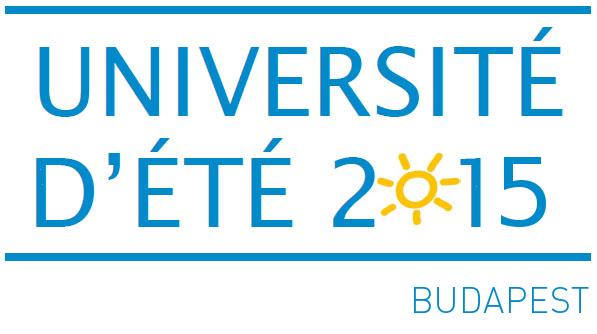logo UdE 2015_bleu_budapest