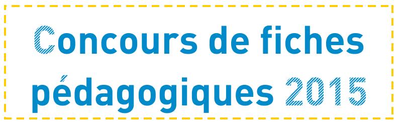 cover concours fiches pédas 2015